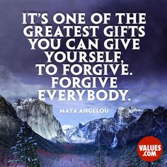 Write a heartfelt letter to someone who deserves your forgiveness. #passiton #forgiveness www.values.com