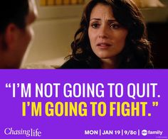 April inspires us! Remember this? #StayStrong, April! #ChasingLife