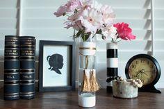 Chic Striped Vase - Darby Smart