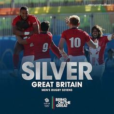 The hardest of finals against a magnificent Fiji display. But Olympic #Silver…