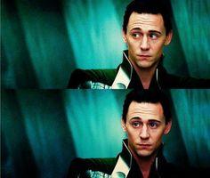 "Tom Hiddleston - ""Loki"" from The Avengers."