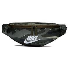 3dc9242d22 Nike 2018 Sac Banane Sport, 15 cm, Multicolore (Cargo Khaki/Negro/Blanco)