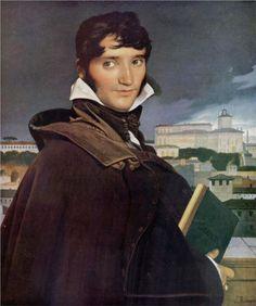 Portrait of Francois-Marius Granet, 1807  Jean Auguste Dominique Ingres