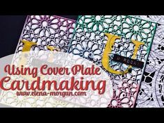 Beautiful project with a wonderful video tutorial! Elena's video was so easy to watch and follow. And don't you just love the colors she used? What a great way to stretch out your stash. We loved how she used the Dodec Cover Die as a main focus element for her card!