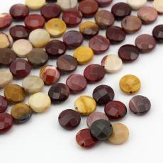 Dobrej jakości monetki naturalnego mokaitu, ładny szlif. Kolory jaspis mokait są naturalne.Kamienie wielobarwne, nie uda nam sie ich parować, bo kazdy jest inny. Mineral Stone, Minerals, Stones, Fruit, Food, Rocks, Meal, The Fruit, Essen