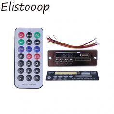 Elitooop Bluetooth MP3 Decoder Board Decoding Player Module Support FM Radio USB/TF LCD Screen Remote Controller  Price: 9.99 & FREE Shipping  #hashtag2 Cool Technology, Decoding, Consumer Electronics, Remote, Bluetooth, Usb, Free Shipping, Lifestyle, Board