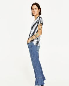 Image 2 of ECOLOGICALLY GROWN COTTON T-SHIRT from Zara
