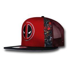 Deadpool Slice 9Fifty Snapback Cap. Caps Game dc59db05d16