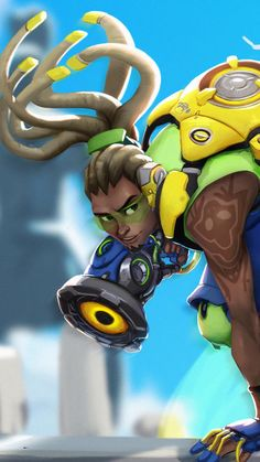 FREE P+P CHOOSE YOUR SIZE Overwatch Poster Lucio  Game Hero 2016 XBox One PS4