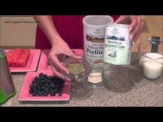 Summer Moringa Smoothie Series Plum Moringa Smoothie