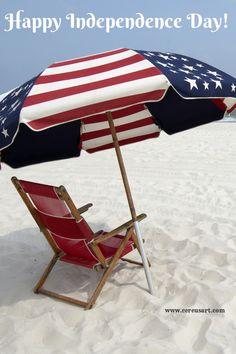 Fourth of July at the Beach http://cereusart.com/fourth-of-july-at-the-beach/?utm_campaign=coscheduleutm_source=pinterestutm_medium=CereusArt%20Casual%20Coastal%20Decor%20(Beach%20Living)utm_content=Fourth%20of%20the%20July%20at%20the%20Beach