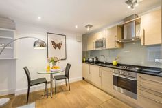 Kitchen, Gloucester Place Serviced Apartments, Marylebone