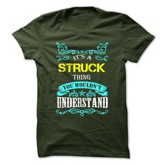 SunFrogShirts cool  STRUCK - Coupon 10% Check more at http://tshirtsock.com/camping/top-tshirt-name-printing-struck-coupon-10.html