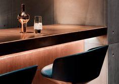 "Tom Dixon designs ""darkly theatrical"" Himitsu cocktail lounge in Atlanta"