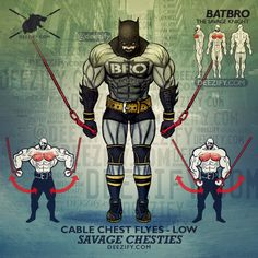 chest exercise - batbro cable chest flyes