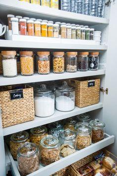 Casas de locos: Almacenando alimentos