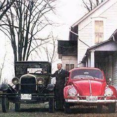 VW old man imagen já, das vintag, man red, já usada, luv vws, vintag vw, vw beetl