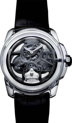La Cote des Montres : Cartier ID Two Concept Watch - Le temps réinventé - Une montre sous vide à haut rendement, transparente comme du cristal