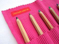 KINDERleicht und schön | Nähen mit Cherrygrön: Stifterolle aus einem Platzset