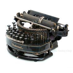 Antique ca.1889 National No.2 Typewriter