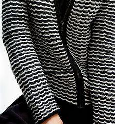 Modèle veste tube femme - Phildar