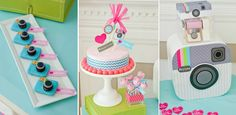 Instagram Birrhday party ideas for teens or Tweens