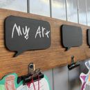 Kids Art Display Board by MöA Design, the perfect gift for Explore more unique gifts in our curated marketplace. Our Kids, Art For Kids, Childrens Art Display, Blackboards, Your Child, Unique Gifts, Bubbles, Interiors, Gallery