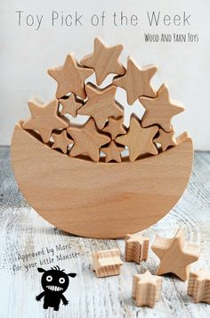 Toy Pick of the Week - Moon and Stars Wooden Balance Toy