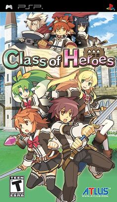 Class of Heroes - PlayStation Portable