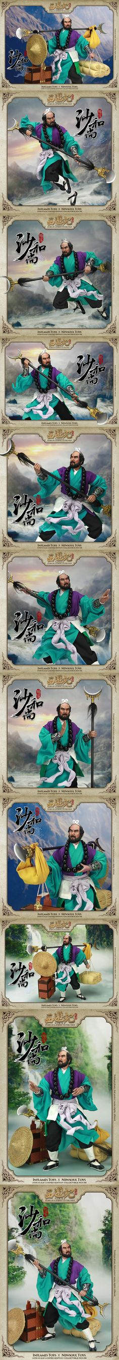 [Inflames toys X Newsoul toys 1/6 Journey to the West - Sha Wujing ]