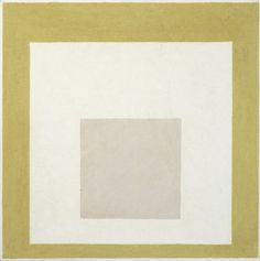 """""""Homage to the Square: Receptive,"""" Josef Albers (1888-1976)"""