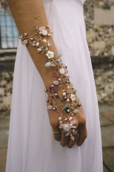 We worked together with Davina Robin's who handmade this bespoke armlet to particularly match in with the Alexa wedding dress and accessories by Stephanie Allin.  Davina is based in Winchester and can meet with you here at our boutique and make some truly special and unique pieces to go with your gown. Photography by Carrie Lavers Photography Wedding Bridesmaid Dresses, Brides And Bridesmaids, Wedding Gowns, Wedding Tiaras, Bridal Tiara, Wedding Dress Shopping, Wedding Jewelry, Diy Jewelry, Bridal Outfits