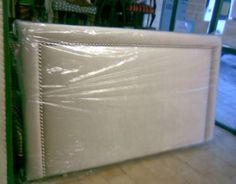 cabecero tapizado liso burlete con tachuelas tapicera carrasco asturias