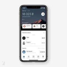 Oh, Look, Another Banking App! by Daria Maksimova on @dribbble. Tap on ♥️ to support our project. . 📢 Mention us to be featured…