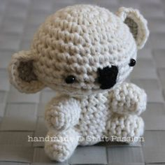 Crochet a koala and other animals. It looks simple enough.