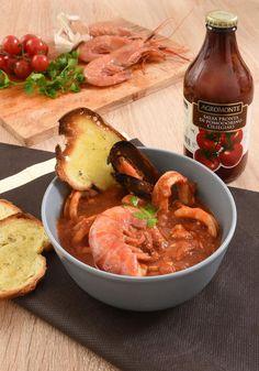 Zuppa di pesce, salsa di pomodoro, acidità o non acidità: soluzioni food + ricetta estiva.
