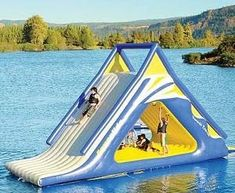Gigantic #Water #Slide
