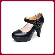 Pieces Damen Schuhe 17041689/Ashley Leather Pump (41) Pieces tIbOpDZ