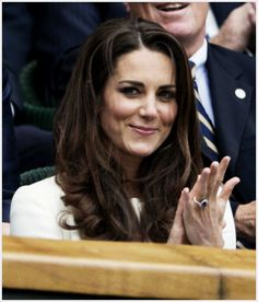 HRH Catherine, Duchess of Cambridge...w all due respect, might she be preggers again; for her second, albeit empty, nursery?