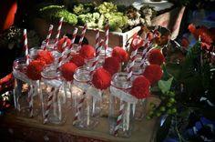 Little Red Riding Hood Birthday Party via Kara's Party Ideas   Kara'sPartyIdeas #LittleRedRidingCap #RedRidingHood #BigBadWolf #PartyIdeas #Supplies (12)