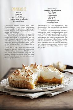 Call me cupcake: Lemon meringue pie