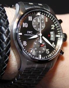 IWC Spitfire Chronograph Watch