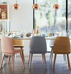 Buy Muuto Nerd Dining Chair online with Houseology Price Promise. Full Muuto collection with UK & International shipping. Dining Room Design, Dining Room Chairs, Dining Area, Kitchen Dining, Dining Sets, Dining Table, Contemporary Dining Chairs, Contemporary Interior Design, Scandinavian Dining Chairs