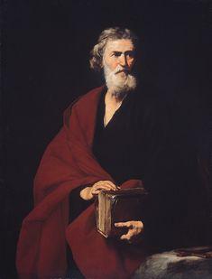 Saint Matthew, by José de Ribera (1632)