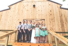 The Smiths - our First wedding at Cedar Tree Barn!
