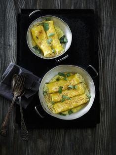 I Italien bliver salvie ofte brugt sammen med smør for at smage frisk pasta til.