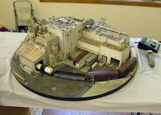 N Scale Model Trains, Model Train Layouts, Scale Models, N Scale Layouts, Model Railway Track Plans, Mini Doll House, Hobby Trains, Electric Train, Model Building