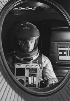 2001: A Space Odyssey. Amazing, practically a silent movie!