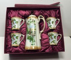Beautiful Victorian Trading Company Tea Or Chocolate Set In Box #Victorian #VictorianTrading