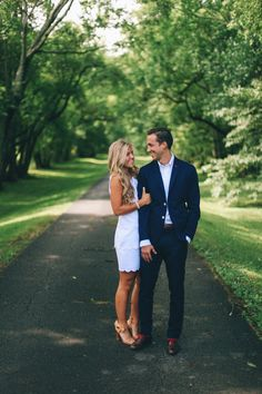 Classic engagement pics. Love elegant engagement pictures rather than just traditional flannel.